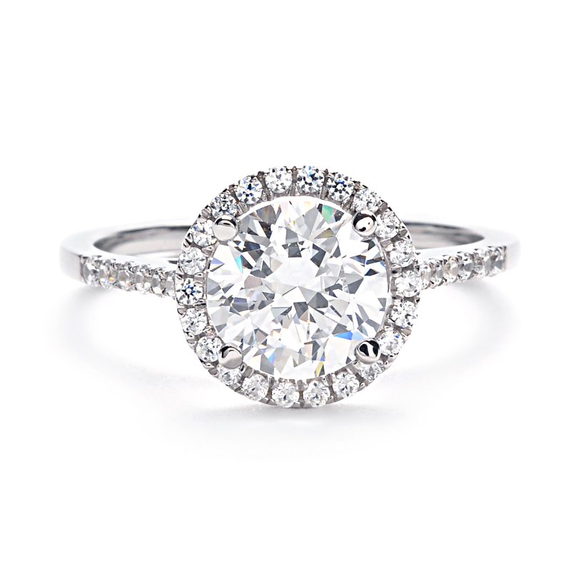 Halo Engagement Ring Zales: greenwhich halo engagement ring collect