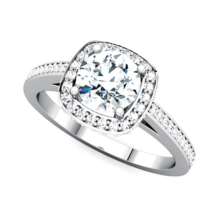 Average  Engagement Ring Cost 2014: halo average engagement ring cost design