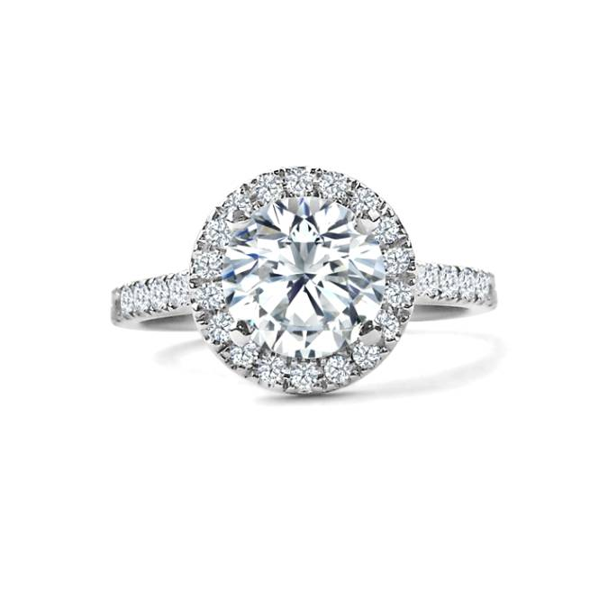 Average  Engagement Ring Cost 2014: halo average engagement ring cost diamond