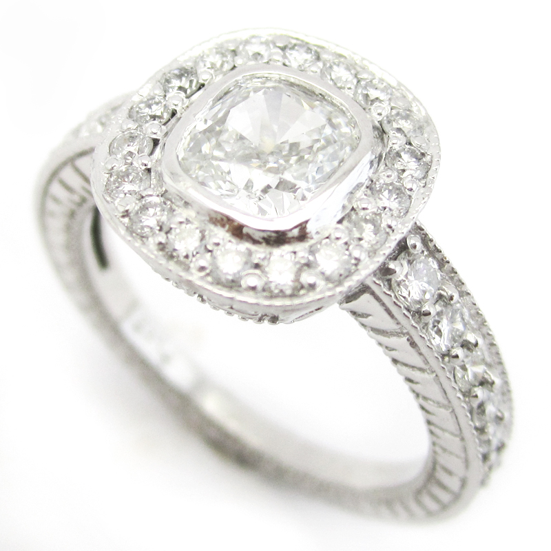 Filigree Engagement Rings Antique: halo filigree engagement rings types