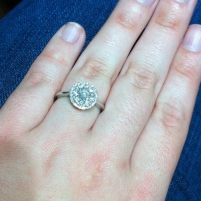 Halo Jcpenney Engagement Rings Cut
