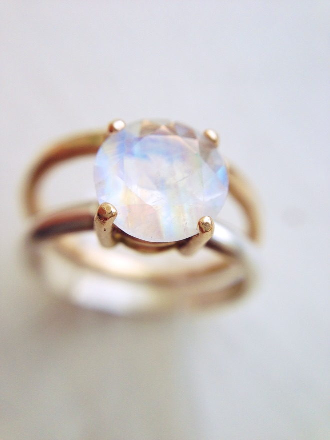 Moonstone Engagement Rings Etsy: handmade moonstone engagement rings antique