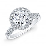 high halo engagement ring prices