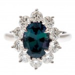 incredible alexandrite engagement ring color