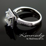 kennedy lab created diamond engagement rings design