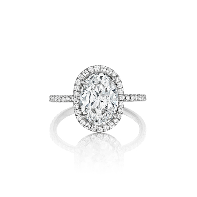 Oval Cut  Engagement Rings for Sale: leo oval cut engagement rings ingwer