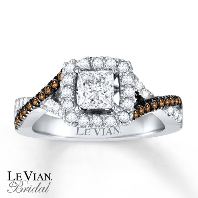 Levian Chocolate Diamond Engagement Ring Collection