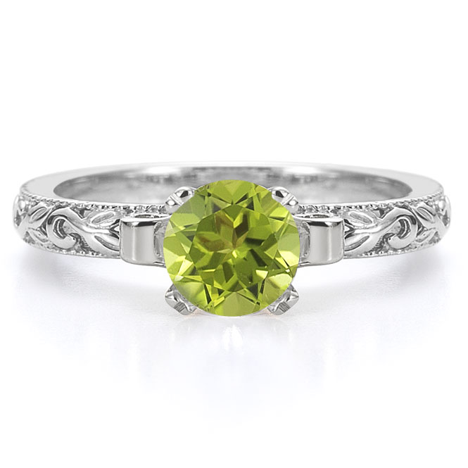 Peridot Engagement Rings Uk: like peridot engagement rings green