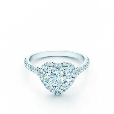 Love Engagement Rings Tiffany Form