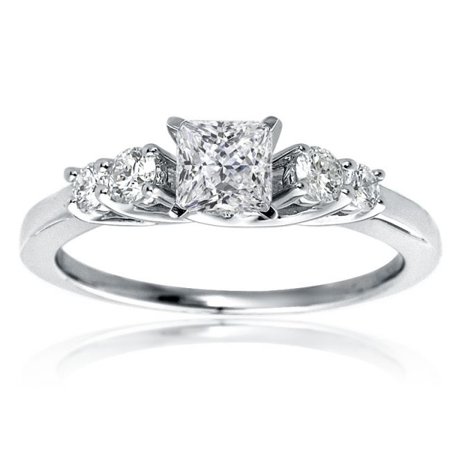 Engagement Rings Princess Cut Zales: mazal engagement rings princess cut diamond