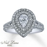 neil pear engagement rings design
