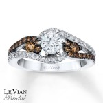 new chocolate diamond engagement ring design