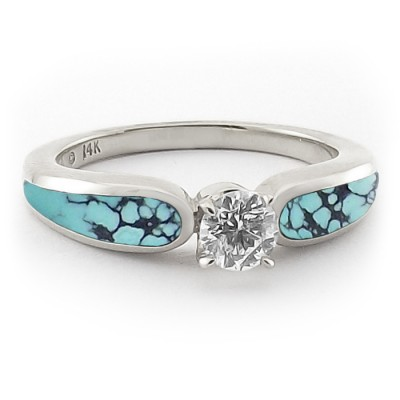 New Turquoise Engagement Rings Pinterest