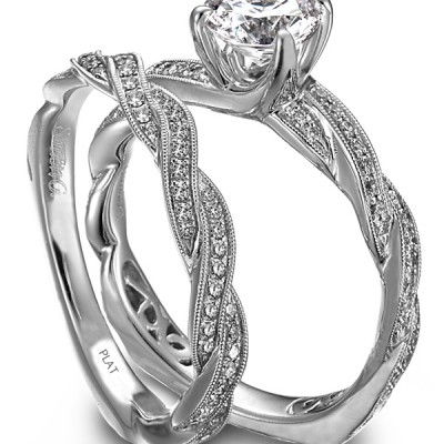 New Types Of Engagement Rings Couple