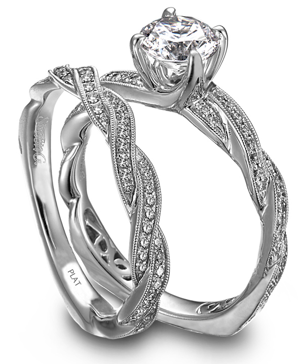Types of Engagement Rings Settings: new types of engagement rings couple