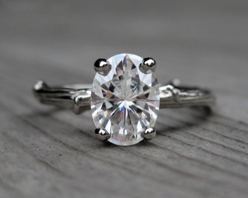 Oval Etsy Engagement Rings Design