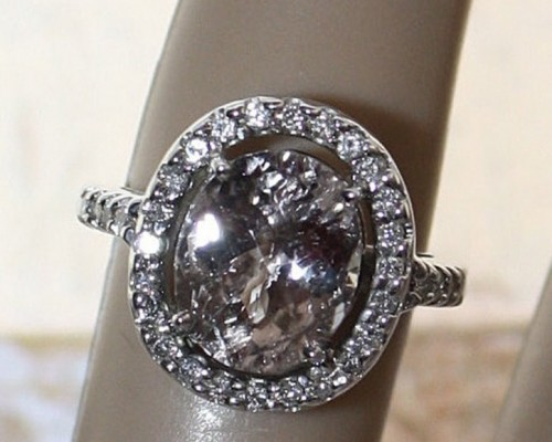 Oval Non Traditional Engagement Rings Pearl