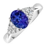 oval tanzanite engagement rings eyes