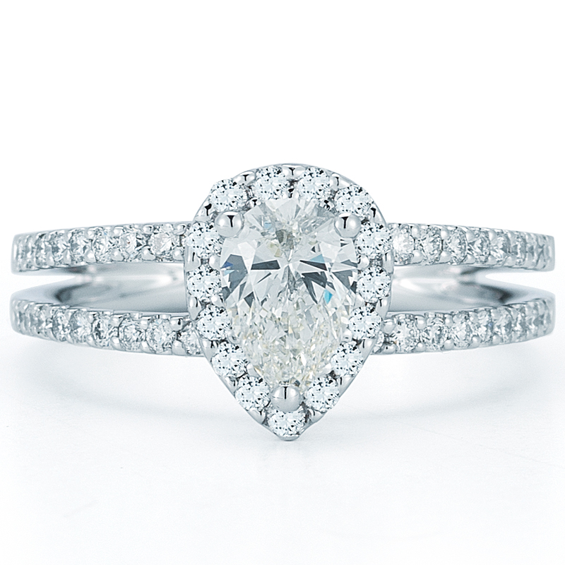 Engagement Rings Costco Review: pear engagement rings costco shaped