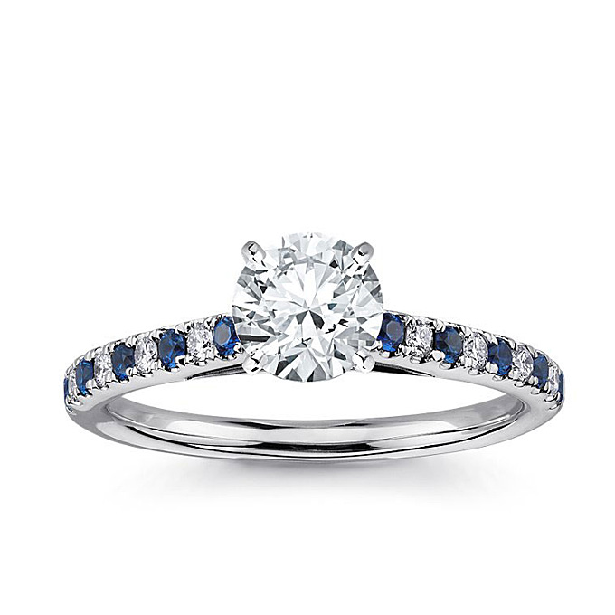 Blue Nile Engagement Rings Reviews: petite blue nile engagement rings blue