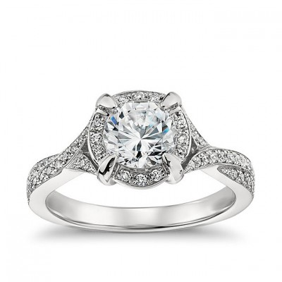 Platinum Blue Nile Engagement Rings Style