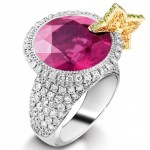 popular colored engagement rings types