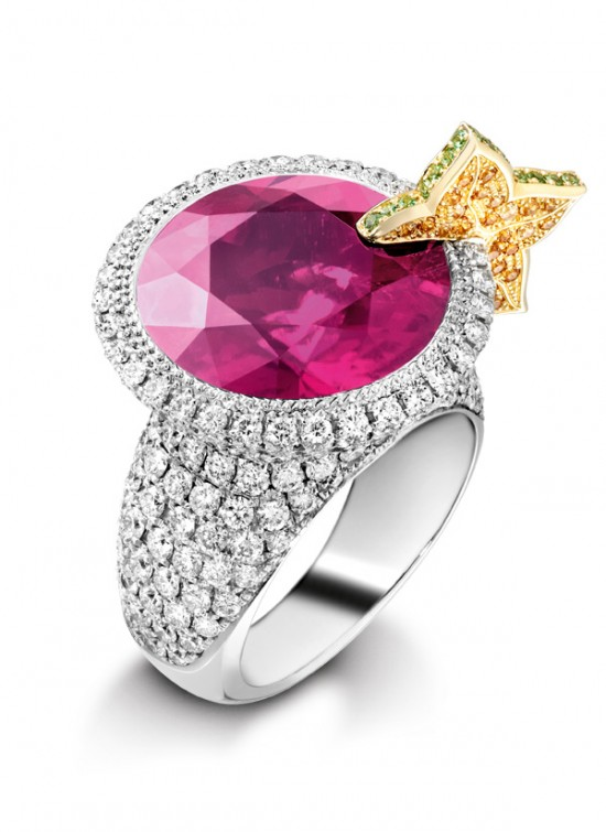 Colored Engagement Rings Trend: popular colored engagement rings types