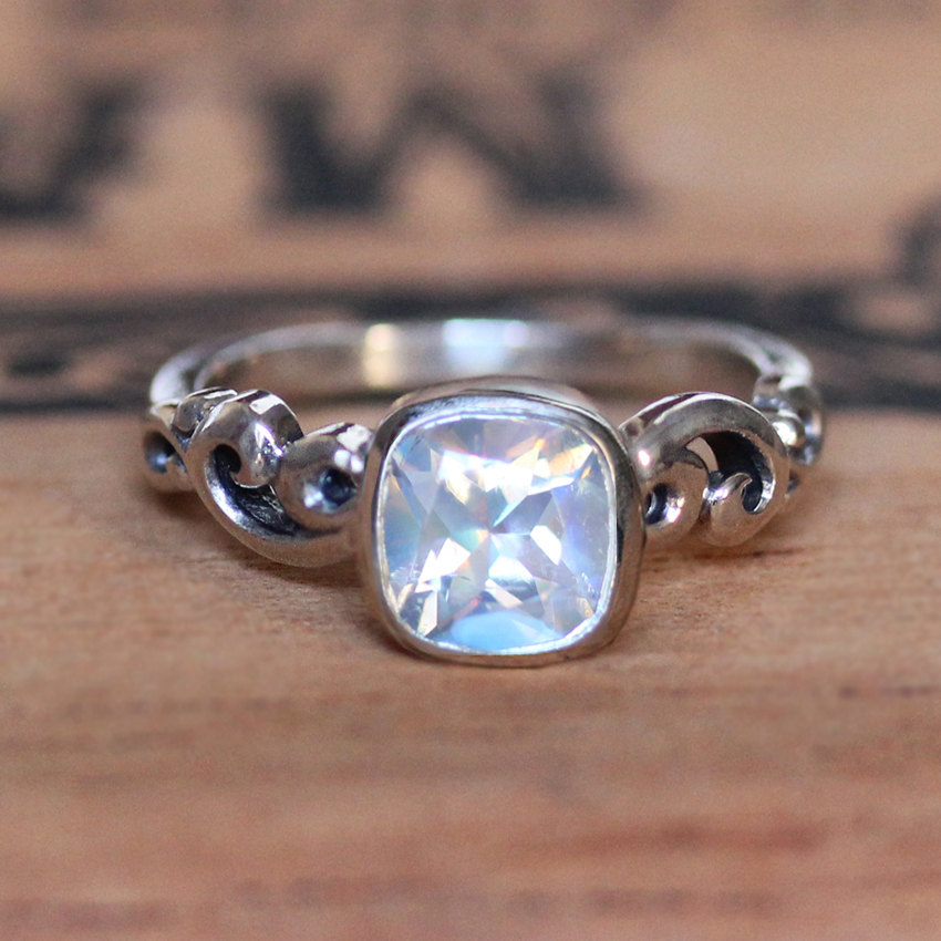 Moonstone Engagement Rings Etsy: popular moonstone engagement rings items