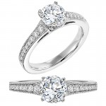 pretty engagement rings houston design