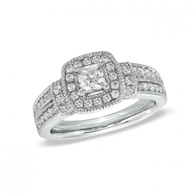 Princess Zales Engagement Rings Cut