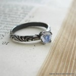 promise moonstone engagement rings ring
