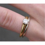 pure average engagement ring cost gold