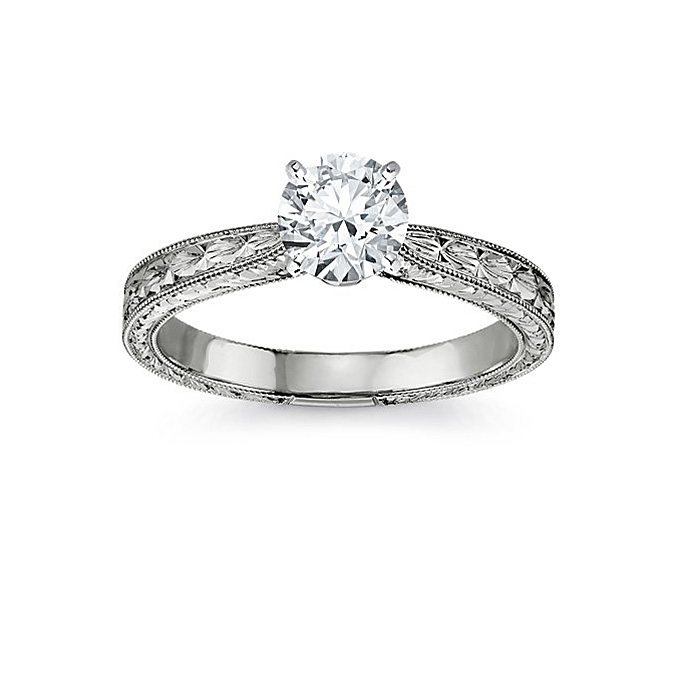 Blue Nile Engagement Rings Reviews: round blue nile engagement rings cut