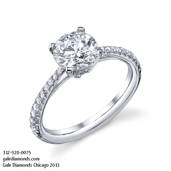 Engagement Rings Chicago Cheap: round engagement rings chicago briliant