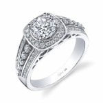 round engagement rings chicago decorate