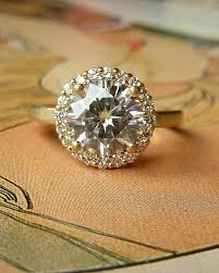 Non Traditional Engagement Rings Cost: round non traditional engagement rings gold