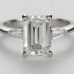 small emerald cut engagement ring ideas