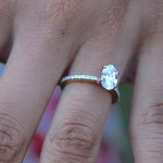small oval cut engagement rings design
