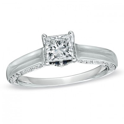 Small Zales Engagement Rings Square