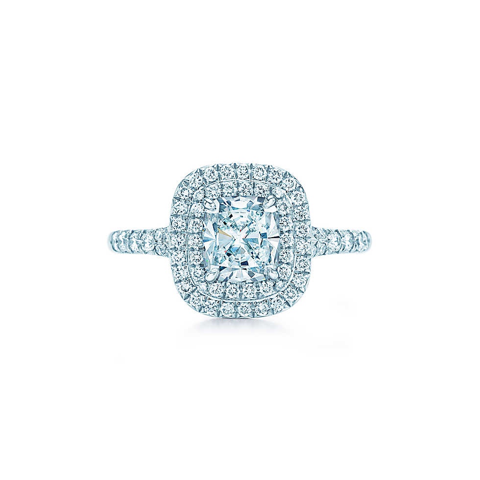 Engagement Rings Tiffany Setting: soleste engagement rings tiffany ring