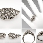 some filigree engagement rings types