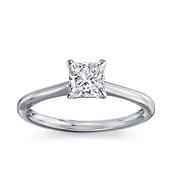 Blue Nile Engagement Rings Reviews: square blue nile engagement rings cut