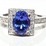 square tanzanite engagement rings design