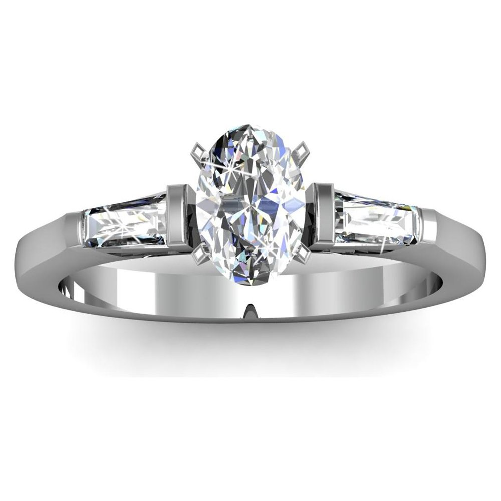 Oval Cut  Engagement Rings for Sale: stone oval cut engagement rings diamond