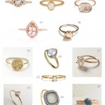 unique types of engagement rings style