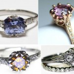 unusual non traditional engagement rings beautiful