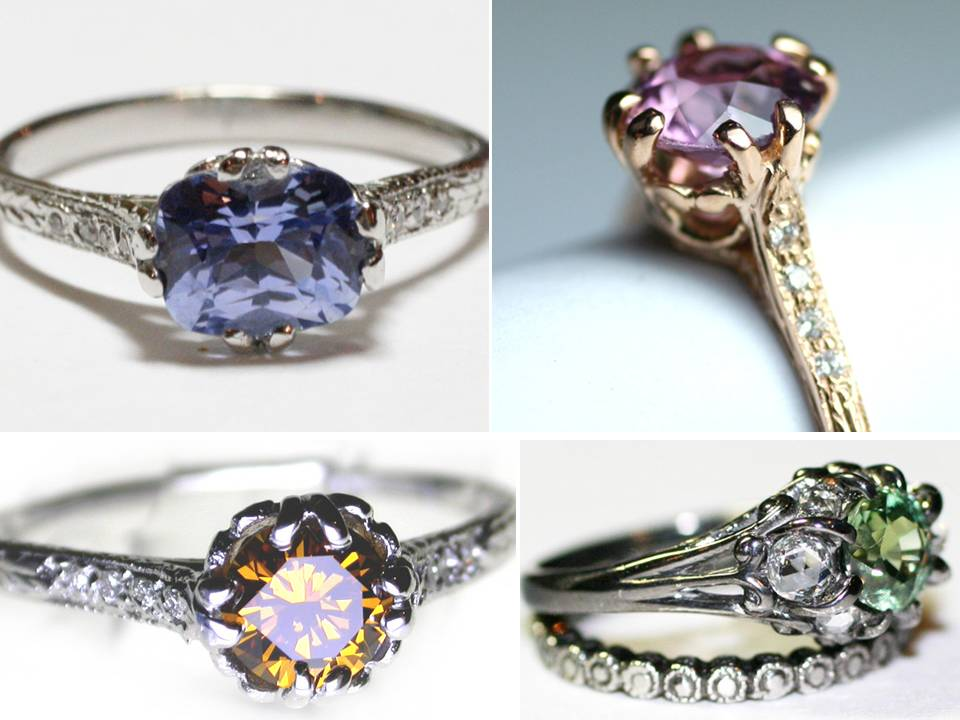 Engagement Rings Unusual Non Traditional Engagement Rings Beautiful