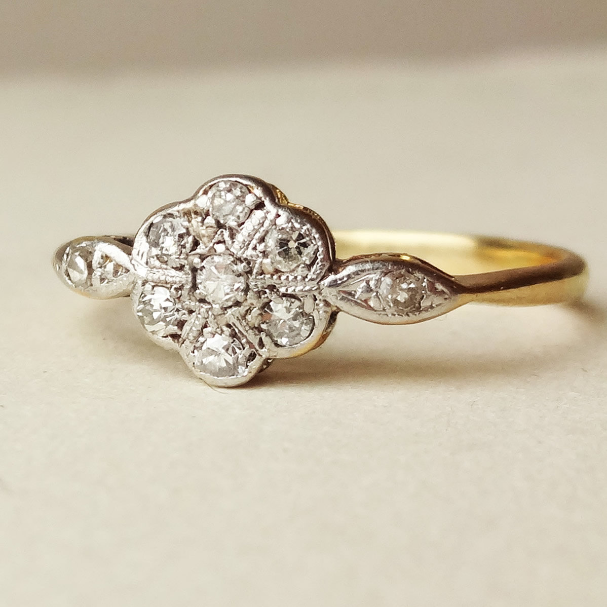 Etsy Engagement Rings Uk: vintage etsy engagement rings gold