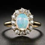 vintage opal engagement ring style