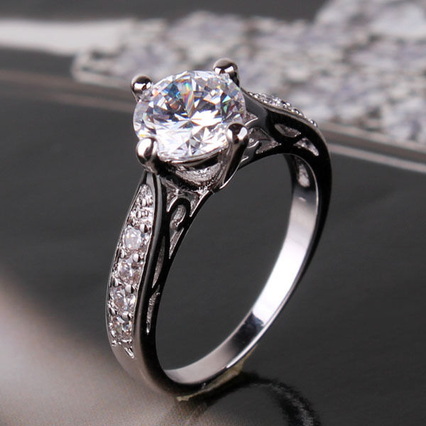 eBay Engagement Rings Uk: white ebay engagement rings gold